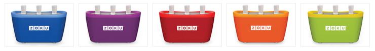 Zoku Popsicle Maker Colors